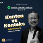 [PODCAST] KONTEN VS KONTEKS with Krishnamurti | eps.15